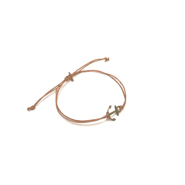 Anchor (brown) - www.mundobracelets.com