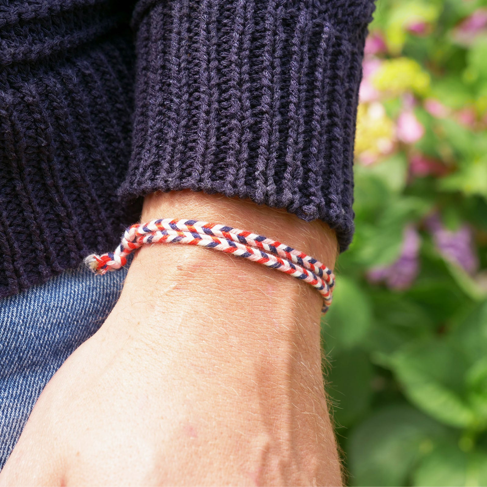Salento (navy blue/red) - www.mundobracelets.com