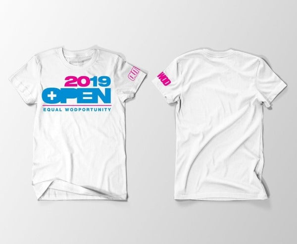 2019 Open Equal WODportunity Tee White