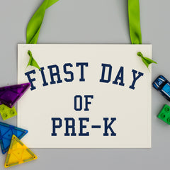 first day of prek
