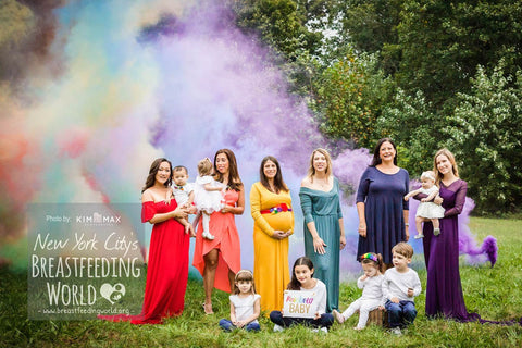 Breastfeeding World Rainbow Baby