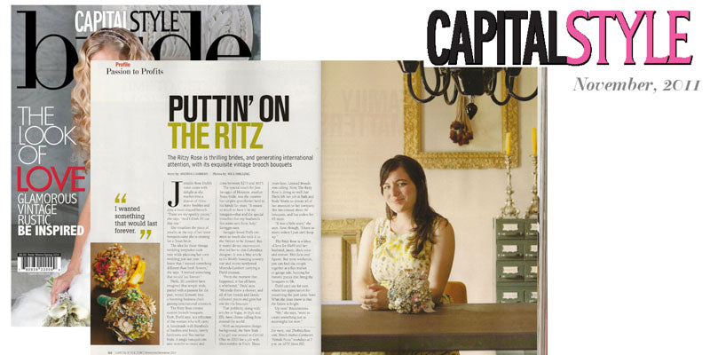 Feature on The Ritzy Rose by Andrea Cambern as a follow up to the 10TV special