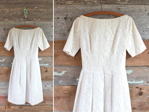 FancyLuckyVintage Wedding Gown on Etsy