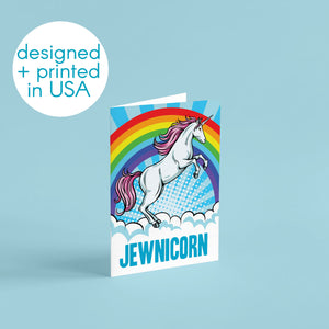 Jewnicorn Greeting Cards - 24 Pack