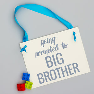 Being Promoted to Big Brother Banner