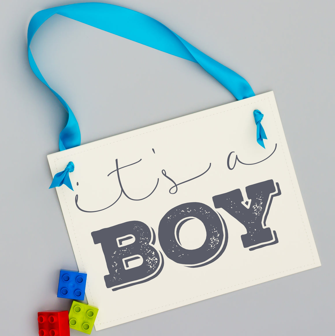 It's a boy sign
