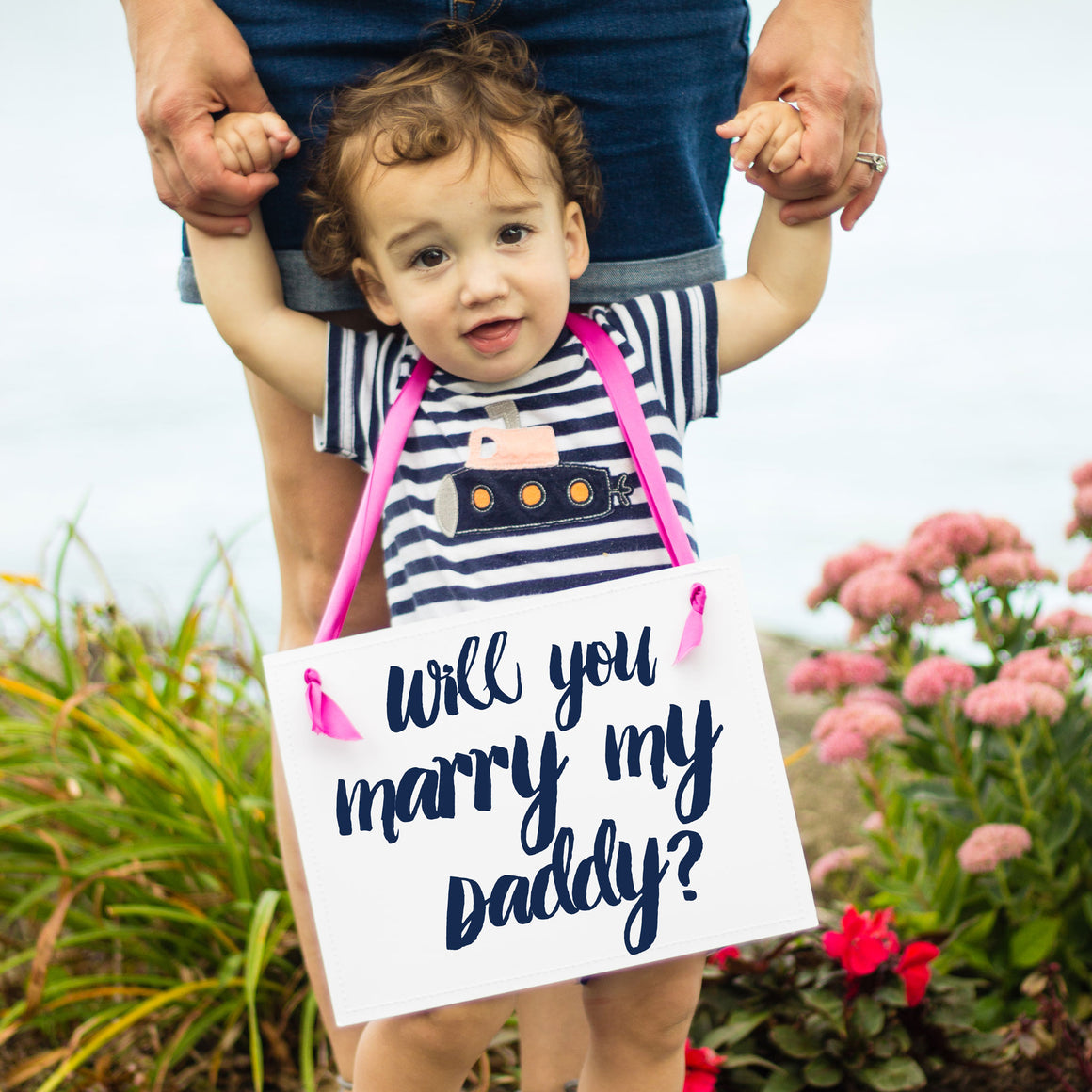 Proposal Banner for Daughter or Son | Will You Marry My Daddy?