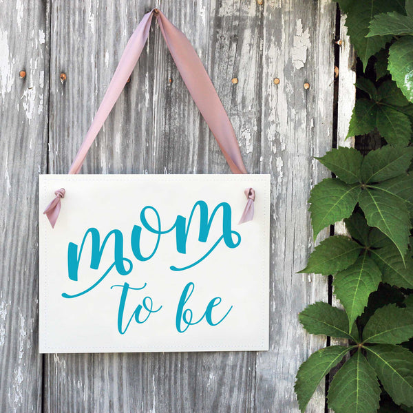 Mom-To-Be Banner | Baby Shower Decor