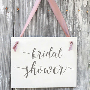 Bridal Shower Banner Decor