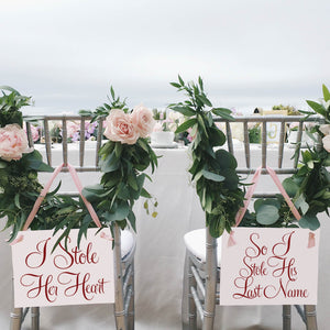I Stole Her Heart | So I Stole His Last Name Signs