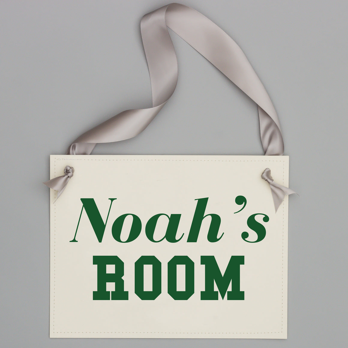 Dorm Room Boy's Name Sign