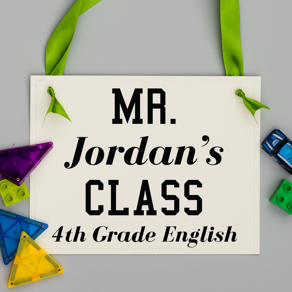 Personalized Teacher's Classroom Sign