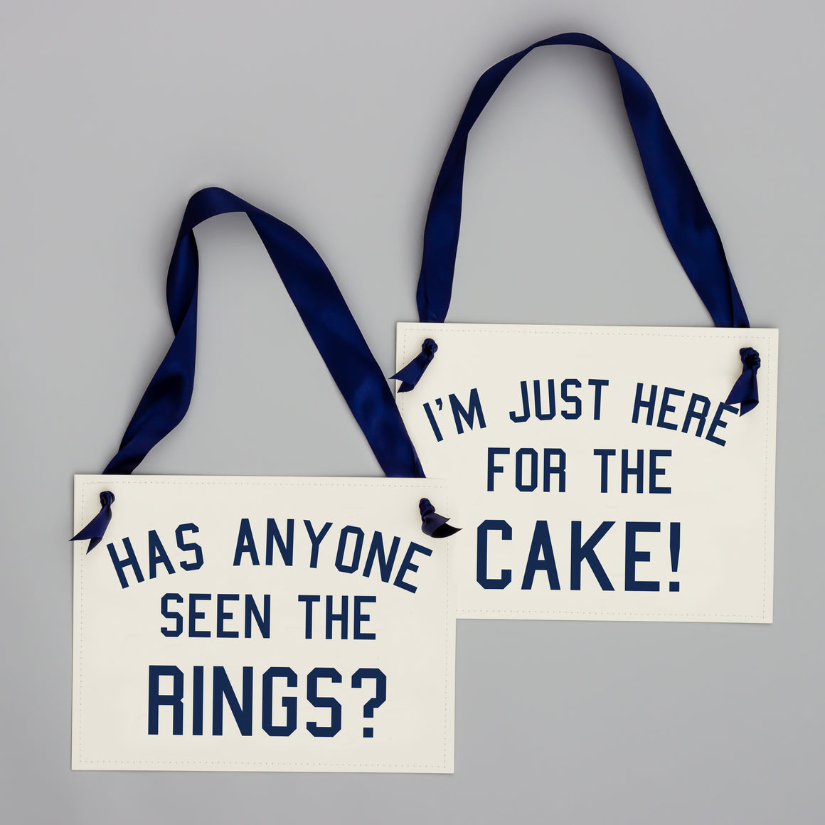 I'm Just Here For The Cake + Has Anyone Seen The Rings Set Navy Blue