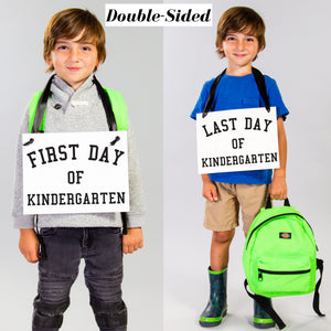 First Day + Last Day of School Banner