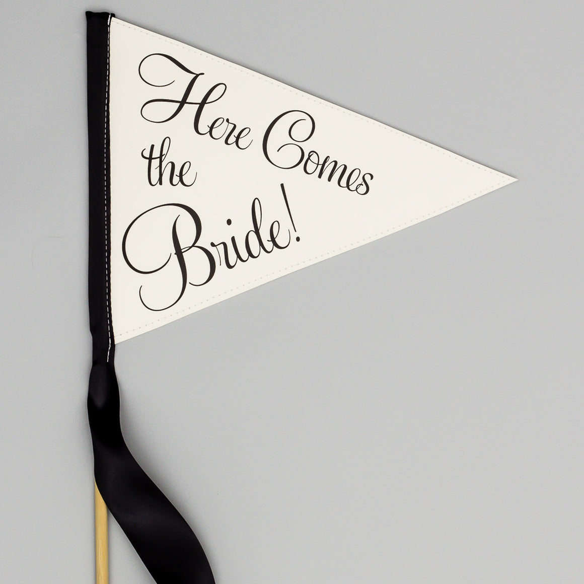Here Comes the Bride Flag