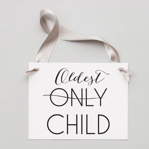 New Baby Announcement | Only Child / Oldest Child