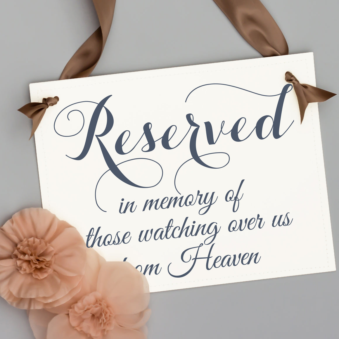 Reserved in memory of those watching over us from Heaven