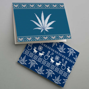Cannabis Chanukah Cards - 12 Pack