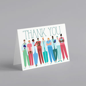 Thank A Medical Professional Greeting Cards - 24 Pack