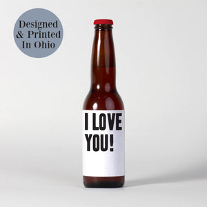 Father's Day Beer Labels for Partner - 6 Pack
