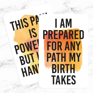 Birth Affirmations | Free Digital Download for Positive Labor & Childbirth