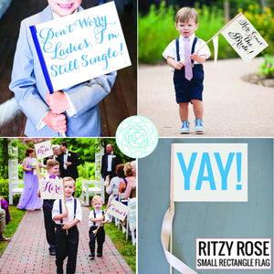 Yippee! Sign Celebration Banner