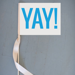 Yay! Sign Celebration Banner
