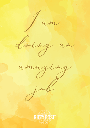 I Am Doing An Amazing Job Phone Wallpaper - Digital Download