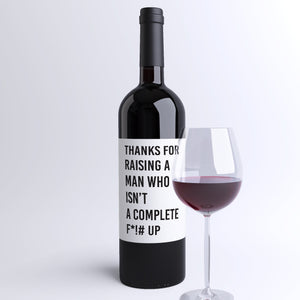 Mom Appreciation Wine Labels - 4 Pack