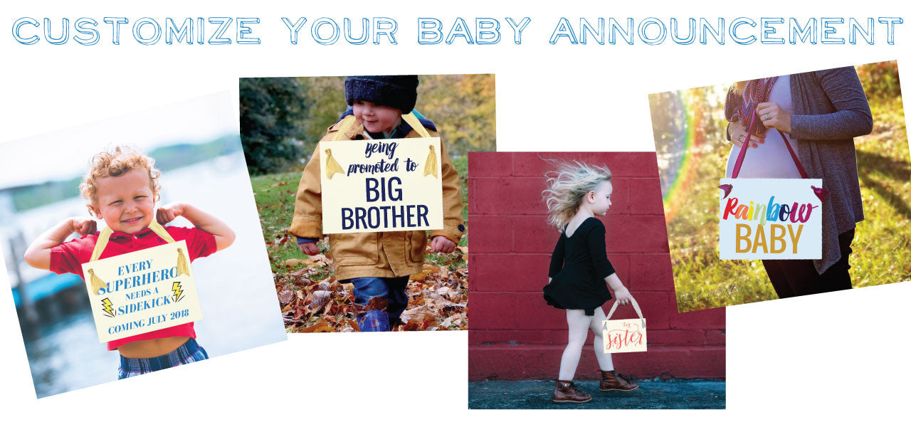 Customize Baby Announcement