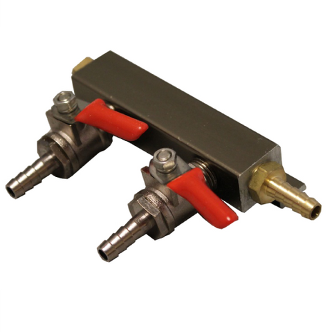 2- Way Gas Manifold
