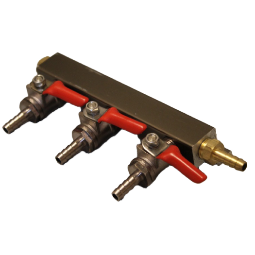 3- Way Gas Manifold