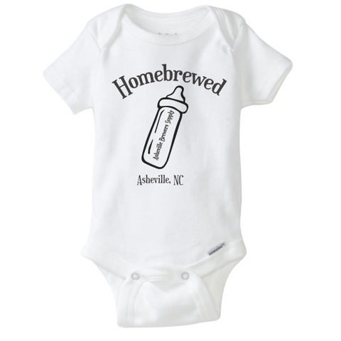 Homebrewed Baby Onesie
