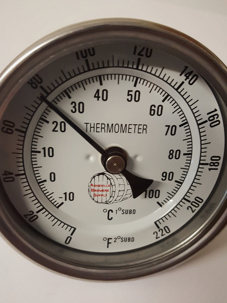 "1/2"" MPT Dial Thermometer"