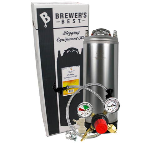 Deluxe Kegging Equipment Kit