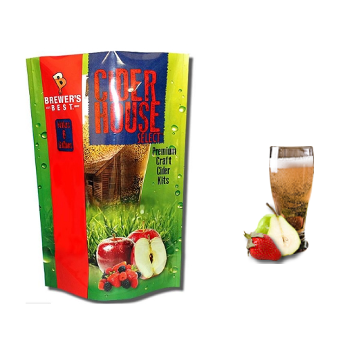 Strawberry Pear Cider Kit
