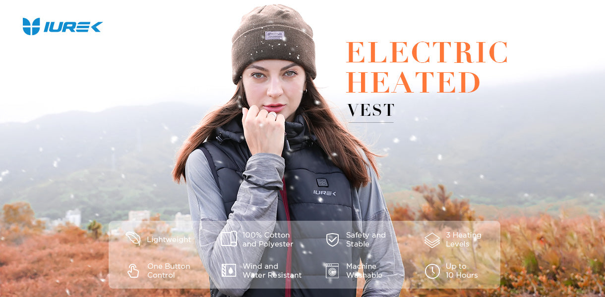 Iurek women heated vest