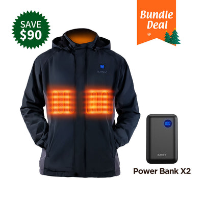 bundle deal women heated jacket