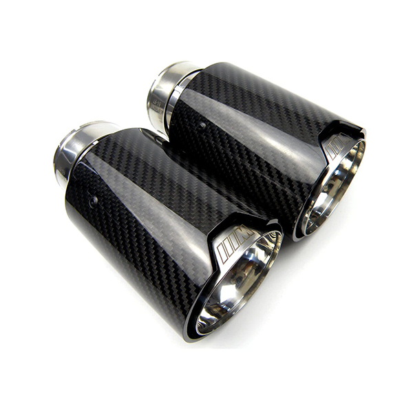 Carbon Fibre & Stainless M Style Exhaust Tips for BMW (F8X Chassis)