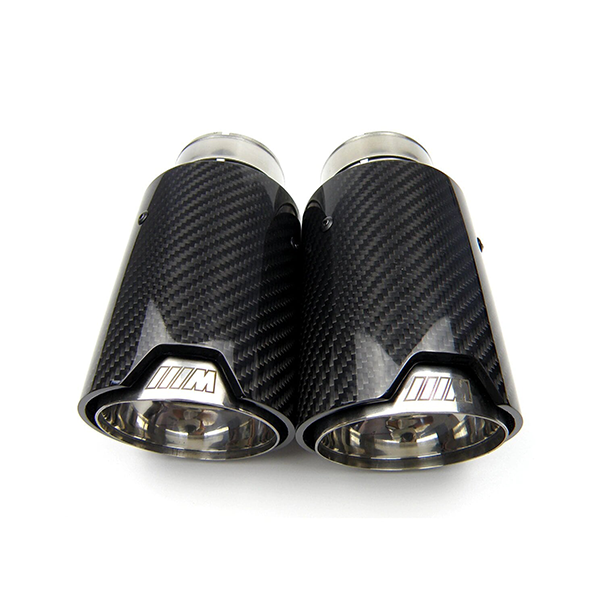 Carbon Fibre & Polished M Style Exhaust Tips for BMW (FXX Chassis)
