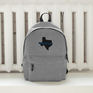 "Embroidered Backpack ""TEXAS STRONG"""