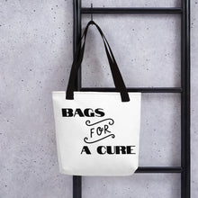 "Load image into Gallery viewer, Tote bag ""FOR A CURE"""