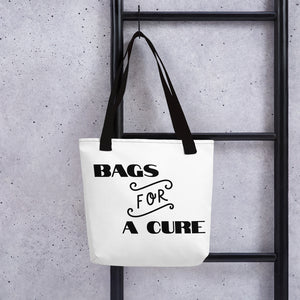 "Tote bag ""FOR A CURE"""