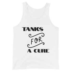 "Unisex Tank Top ""TANKS FOR A CURE"""