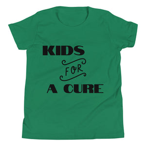 "Youth Short Sleeve T-Shirt ""KIDS FOR A CURE"""