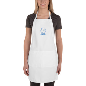 "Embroidered Apron ""TEXAS STRONG"""