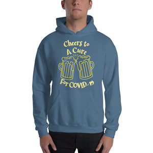 "Unisex Hoodie ""CHEERS TO A CURE"""