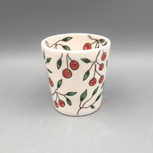 Load image into Gallery viewer, Mug (12oz) - Cherry design on porcelain