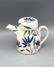 Load image into Gallery viewer, Teapot (24 oz/700ml) - Made to order. Choose your botanical design on porcelain