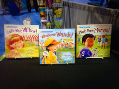 All 3 Books - Shine Bright Trio! (Willow, Marvin & Wanda)